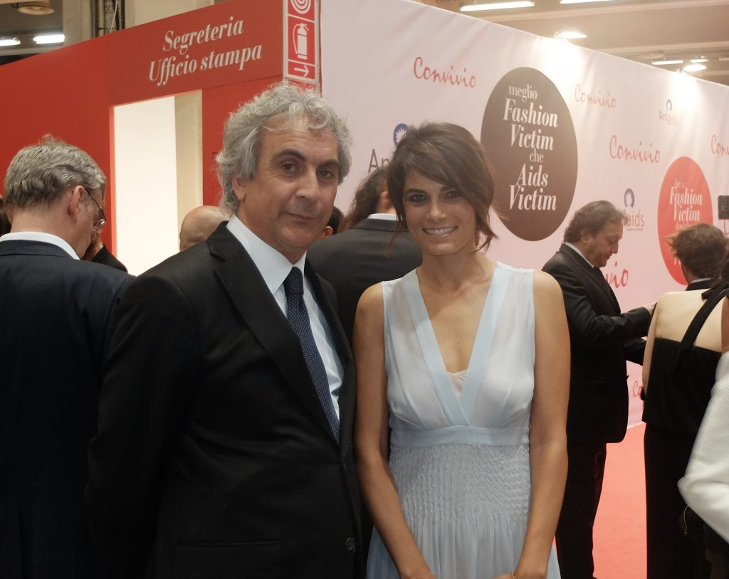 Realino Mazzotta e Valeria Solarino